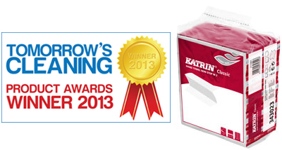 Упаковка Katrin Handy Pack - претендент на награду Tomorrow's Cleaning Product Awards 2013